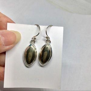 Jewelry - 🆕PYRITE STERLING SILVER EARRINGS